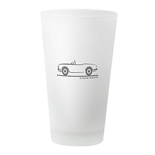 CafePress Alfa Romeo Giulietta Spider Duetto Pint Glass, 16 oz. Drinking Glass