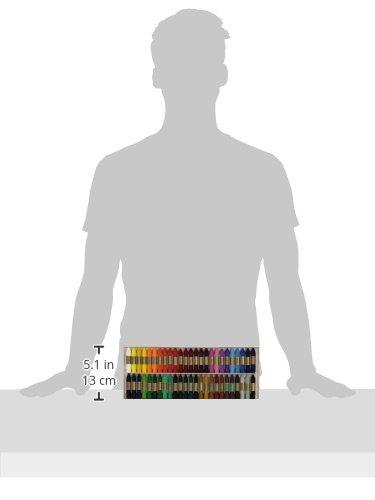 1/unit/à ideali per la scuola colori assortiti /Scatola da 24/colori a cera in bastoncini Manley REF124/
