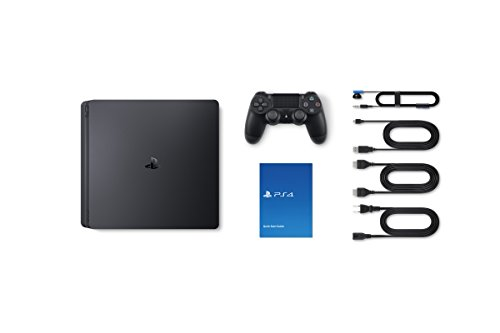 PS4 1TB Slim (Free Games : Detroit /The Last of Us/God of War/Fortnight Voucher /PSN 3 Month Inside the Box