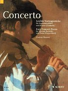 Easy Recorder Pieces (Concerto (Descant Recorder) Easy Concert Pieces for Descant Recorder and Piano (Woodwind))