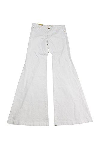 Michael Michael Kors Woman Classic Pant - MICHAEL Michael Kors Womens Selma White Wash Slim Fit Flare Jeans White 2
