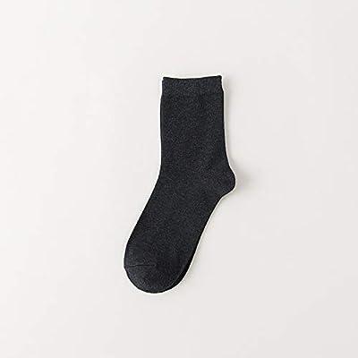 CXKWZ Calcetines De Hombre Color Caramelo Medias De Color Liso para Hombre Calcetines De Hombre Calcetines De Algodón Casuales De Otoño Y Primavera Hombres: Amazon.es: Deportes y aire libre
