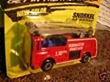 Matchbox #63 Snorkel Fire Truck 12th Rescue Squad-New Color