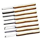 8pc Wood Lathe Chisel Set