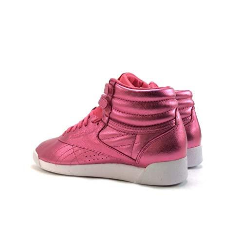 Femme Freestyle Baskets Rose Metallic Mode Reebok Hi 1xZtq8wdZ6