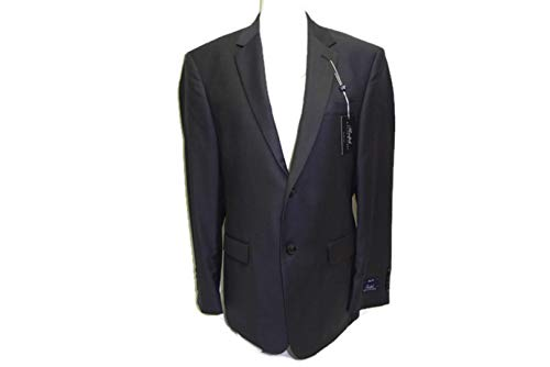 (RALPH LAUREN Men's Slim Fit 100% Wool Suit Charcoal 42 Short, 35 Waist)