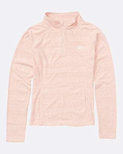 Billabong Big Morning Call Girls Fleece, Blush, M ()