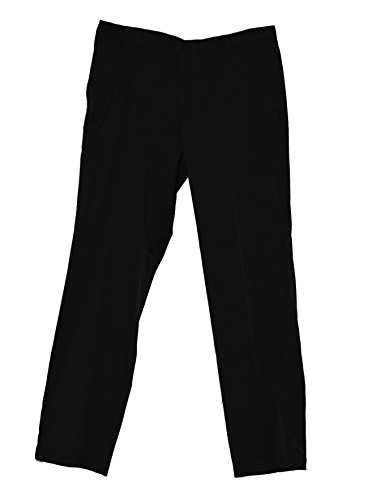 NIKE Men's Dri-Fit Flat Front Golf Pants (Black, 36 x 30)
