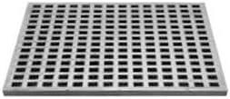 [スポンサー プロダクト]カネソウ 鋳鉄製みぞ蓋 格子タイプ 正方形 300角×H20mm メーカー直送 代引不可 GA-300kakuH20