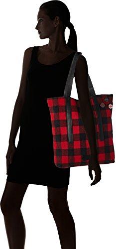 ESPRIT 097ea1o045 - Bolsos totes Mujer Rojo (Red)