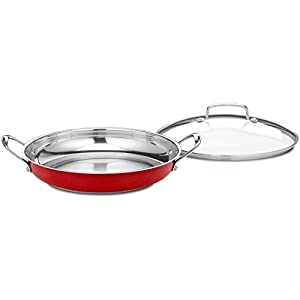 Cuisinart CIL22-20BBN Castlite Non-Stick Cast Iron Fry Pan