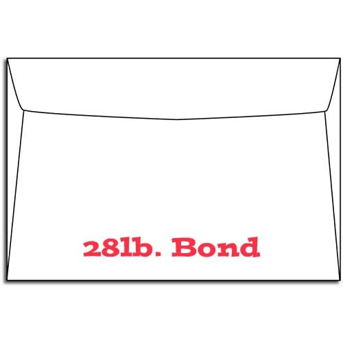 "Hot Booklet Envelopes, 6"" X 9"" White 28/70 Lb - 50 Envelopes free shipping"