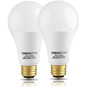 Torchstar 3 Way 40 60 100w Equivalent Led A21 Light Bulb