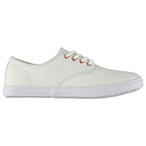 MISO Women's Trainers white Weiß/Rose Gold Ac2l6