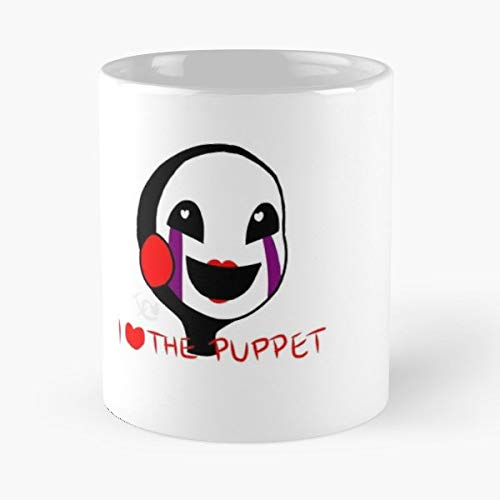 Fnaf Five Nights At Freddys 2 Animatronic Puppet - White -coffee Mug- Unique Birthday Gift-the Best Gift For Holidays- 11 Oz.]()