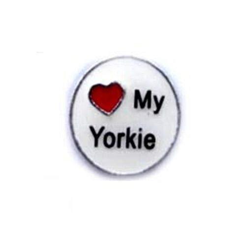 Love My Yorkie With Heart...