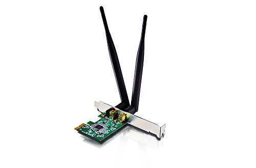 Netis WF2166 Wireless AC1200 Long-Range PCI-Express Adapter, Low Profile Bracket Included, 5dBi High Gain Antenna by Netis