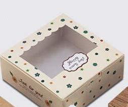 XLPD - Caja de cartón para Manualidades, 10 Unidades, PVC, Caja de cartón, Caja de Regalo para Dulces: Amazon.es: Hogar