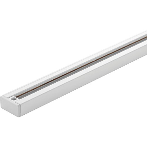 Progress Lighting P9058-28 LED Linear-8 Foot Track, White by Progress Lighting