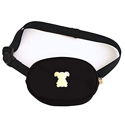 MISO PUP Belt Bag - Oval Fanny Pack with Swing Buckle by Miso Pup