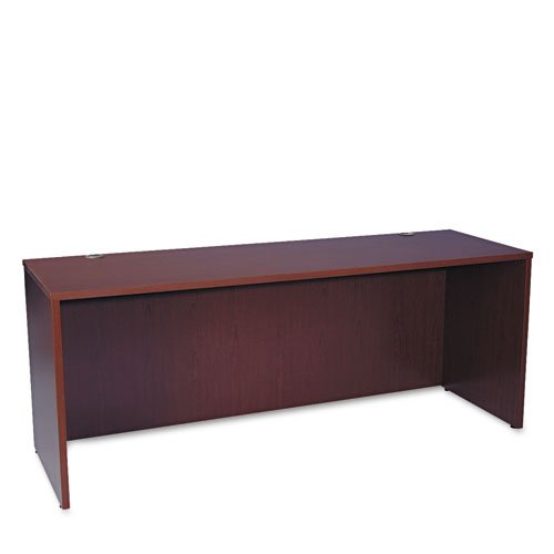 HON BL Laminate Series Credenza Shell - Desk Shell for Office,  72w x 24d x 29h, Mahogany (HBL2121)