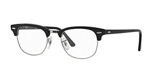 Ray-Ban Clubmaster Noir RX5154 RB5154 2000 49-21 Small