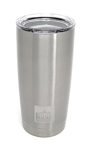 20oz Traveler Tumbler by Pine Sky, Premium Stainless Steel V