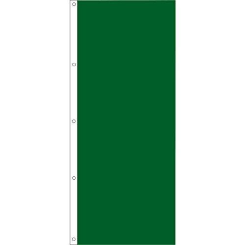 Vertical Solid Color Flag, Dark Green, 3' x 8'