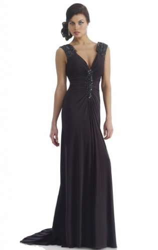 Passat Women's Kim Kardashian Wedding Dress Size US4 Color Black