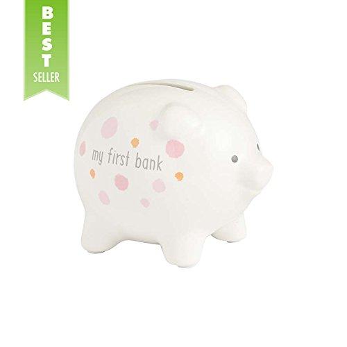 Enesco My First Piggy Bank Pink