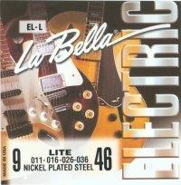 LaBella EL-L Nickel-Plated Round Wound - Light (Plated Round Wound Light)