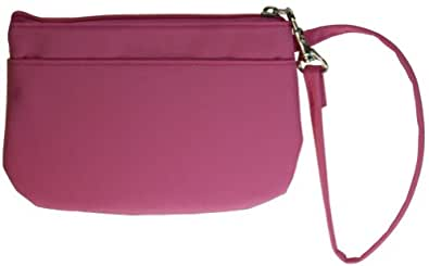Buxton Wristlet for Women with Removable ID Carrier Pink ...