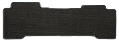Premier Custom Fit 1-piece Rear Row Carpet Floor Mat for Ford Bronco II (Premium Nylon, Smoke)