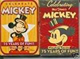 2 Decks Mickey Mouse 75th Anniversary Playing Cards