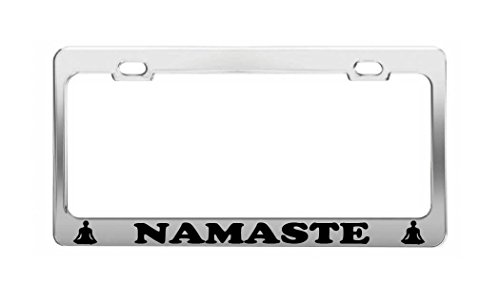 license plate frame buddha - 6