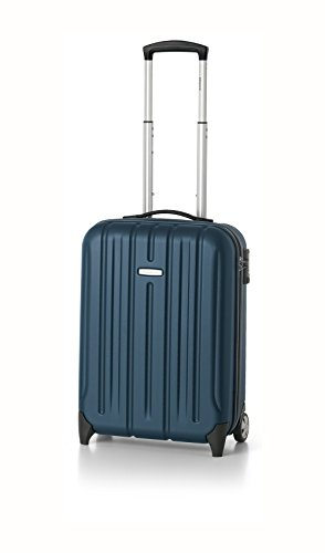 Roncato Trolley Cabina Rigido Kinetic a due ruote Policarbonato Blu