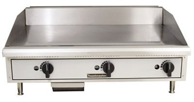 Toastmaster TMGE36 36'' Snap-Action Thermostatic Control Electric Griddle | 208 Volt, 3 Phase