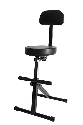 On-Stage DT8500 Guitar/Keyboard Throne (Bailey Stool)