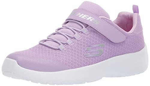Skechers Kids Girls' Dynamight-Rally Racer Sneaker Lavender 13.5 Medium US Little Kid