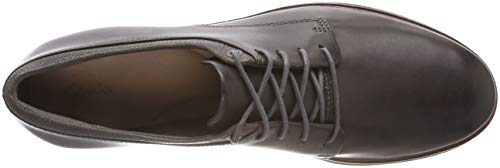 Frida Dark Lea Derbys Grey Clarks Grey Women's 5ZqxIZwzF