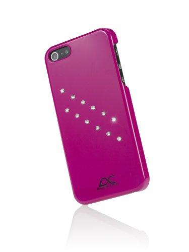 Diamond Cover 301141 Case inkl. Displayschutzfolie mit Kristallen von Swarovski für Apple iPhone 5/5S