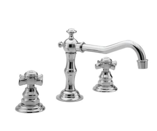 Newport Brass 1000/04 Widespread Bathroom Faucet from the Fairfield Collection - Includes Metal Pop-Up, Satin Brass