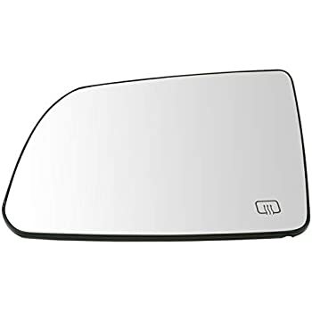 Side View Mirror Glass Assembly Turn Signal w// Backing Plate LH for Toyota Truck