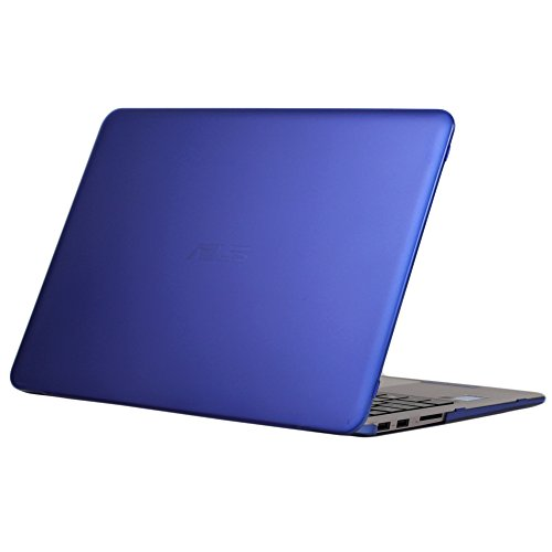 mCover iPearl Hard Shell Case for 13.3-inch ASUS ZENBOOK UX305FA Series (NOT Fitting UX305LA Series) Laptop - Blue