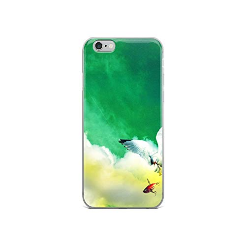 iPhone 6/6s Case Anti-Scratch Creature Animal Transparent Cases Cover The Chase Animals Fauna Crystal Clear ()