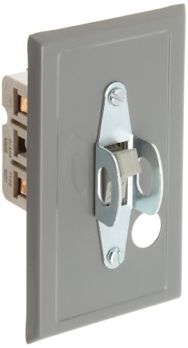 Siemens MMSKF1 Fractional HP Switch, Single and 3 Phase, Open Switch, Gray Flush Plate, Toggle Operator Type, Standard Switch Feature, 2 Poles (Type Operator Toggle)