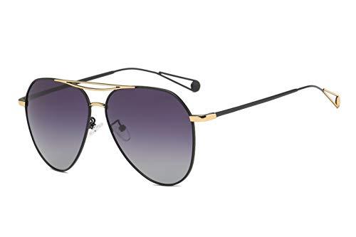 de Ojos Sol Retro polarizadas Intellectuality A B de Mujer Gafas de Gafas Hombre Personalidad Sol pqEvxx5g