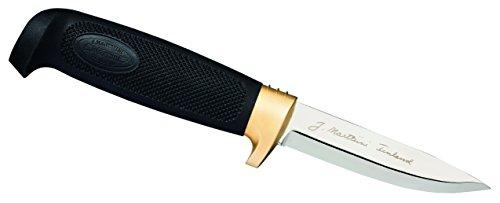 Blade Plain Sheath (Marttiini Condor Drop Point, Rubber Handle, Plain w/Leather Sheath)