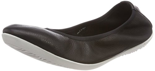 Smooth Black Closed Black Softinos Flats WoMen Ballet Toe Oki451sof BqxHfE8