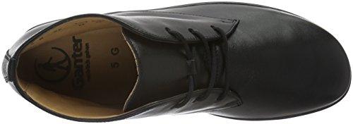Ganter Anke, Weite G, Zapatillas de Estar por Casa para Mujer Negro - Schwarz (schwarz 0100)